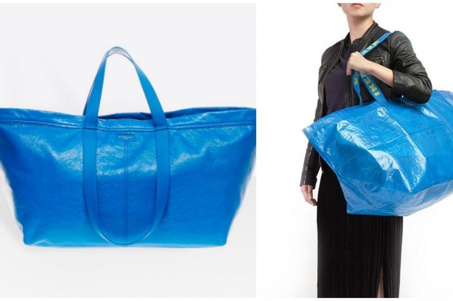 Bolsa azul de Ikea