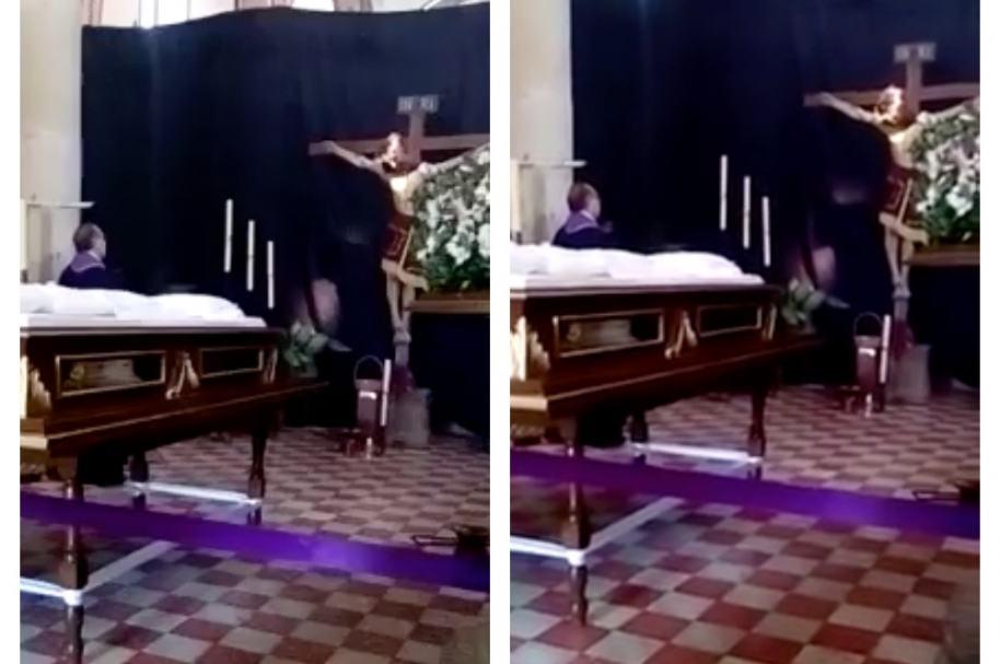 Imagen de Cristo que habría movido la cabeza en iglesia de México. Pulzo.com