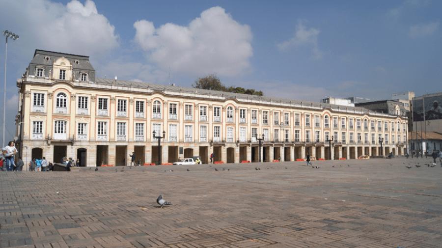 Palacio de Liévano, sede de la Alcaldía de Bogotá