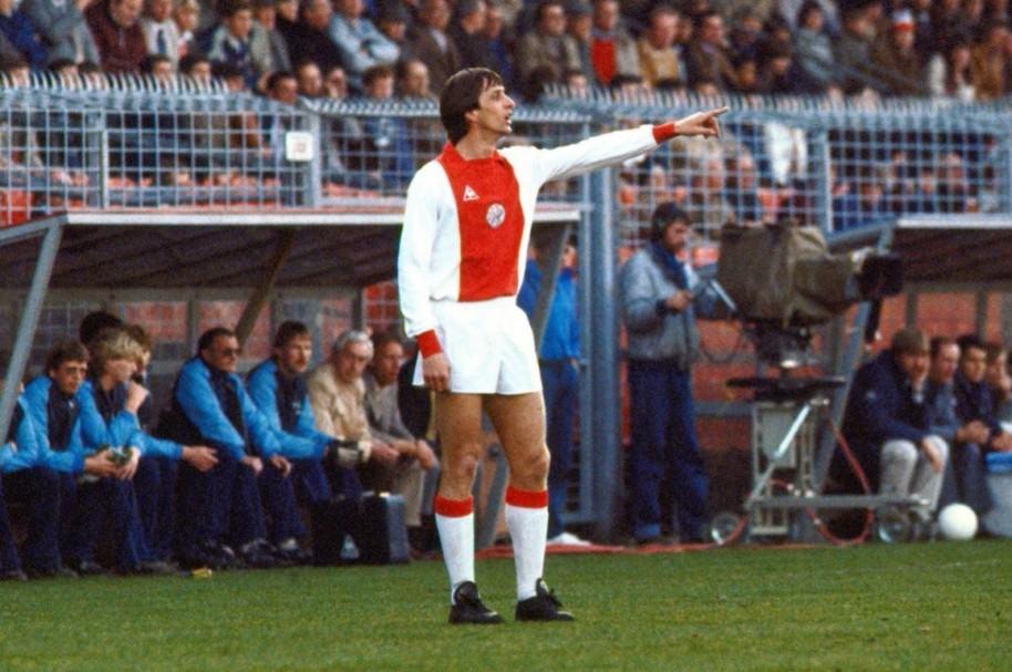 Johan Cruyff con el Ajax