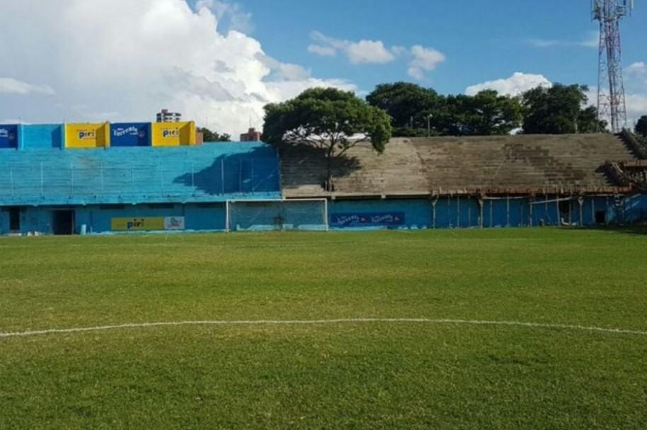 Árbol en estadio de Paraguay