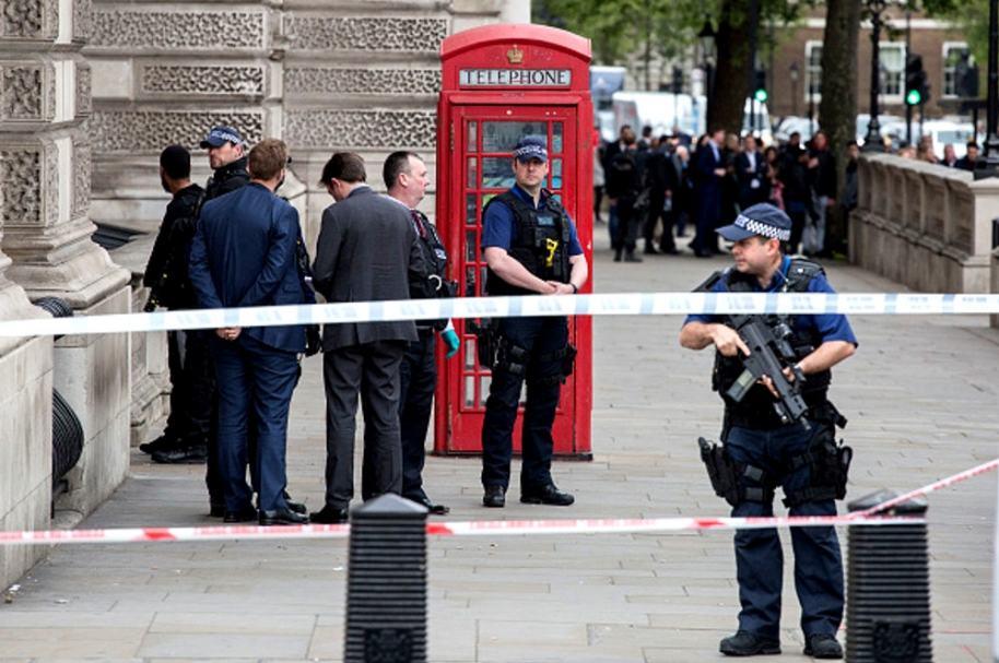 Presunto terrorista en Londres