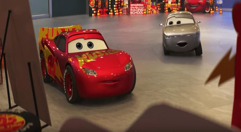 Escena de Cars 3. Pulzo.com