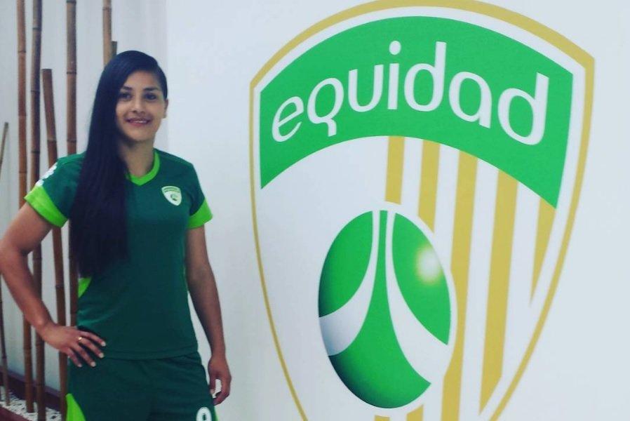 Diana Celis, jugadora de La Equidad
