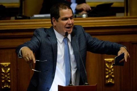 Diputado opositor Luis Florido