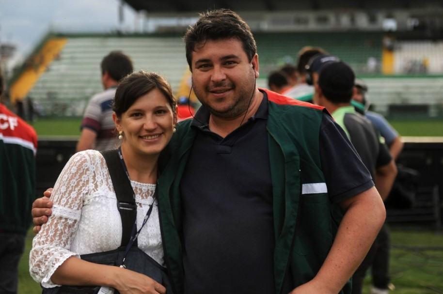 Sirli Freitas y su fallecido esposo Cléberson Silva