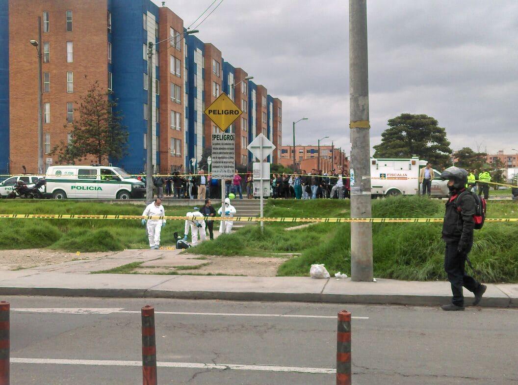 Hombre asesinado por el sicario en el sector de Hayuelos