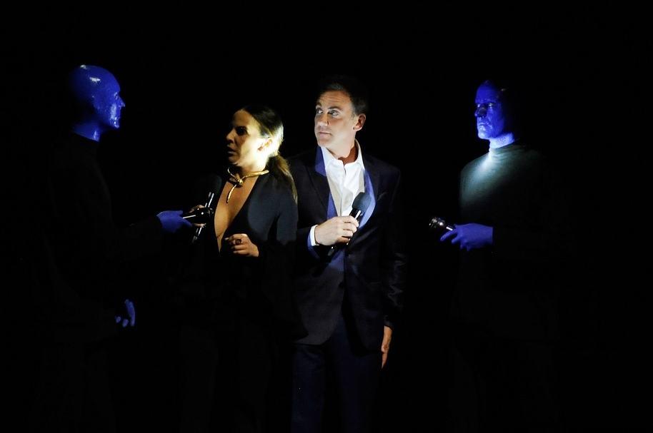 Kate del Castillo y Carlos Ponce, actores que presentaron los Billboard latinos.