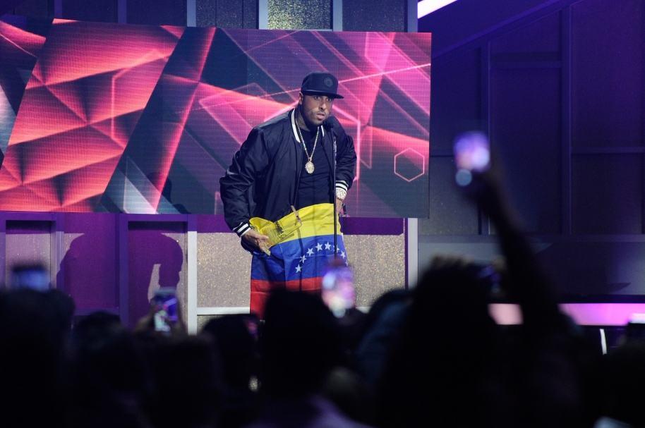 Nicky Jam en los premios Billboard - Pulzo.com