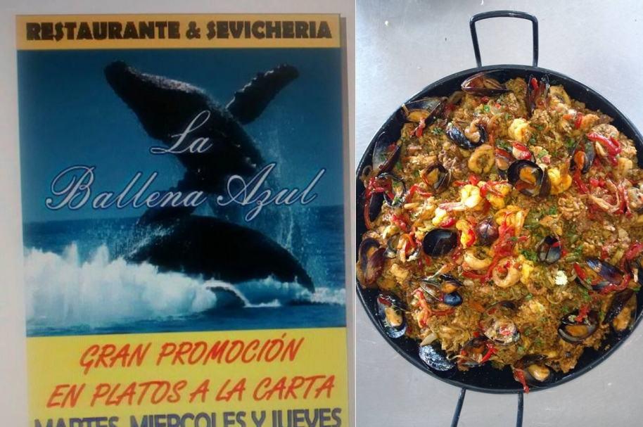 Restaurante La Ballena Azul