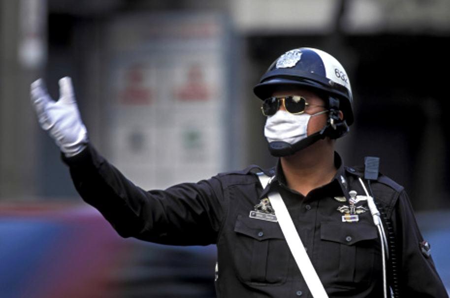 Policía tailandés