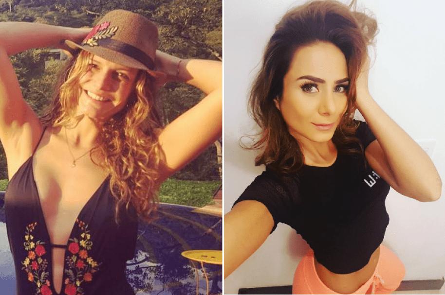 Mabel Moreno y Johanna Fadul, actrices colombianas.