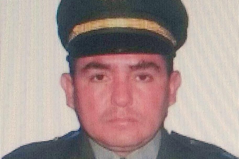 Intendente Jaime Leonel Mariño Quintero, comandante de Estación de Policía en Teorama