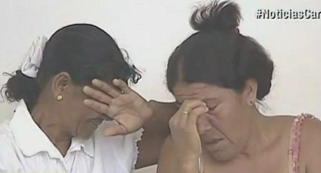 Familiares de víctimas en Cartagena