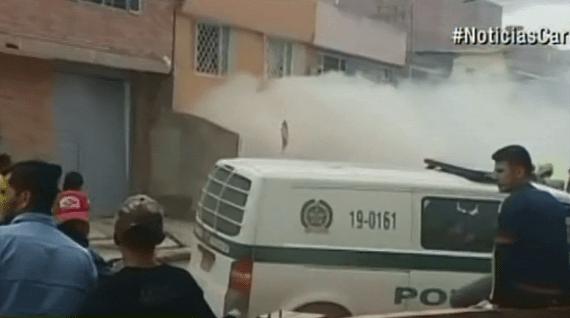 Explosión en vivienda de Soacha. Pulzo.com