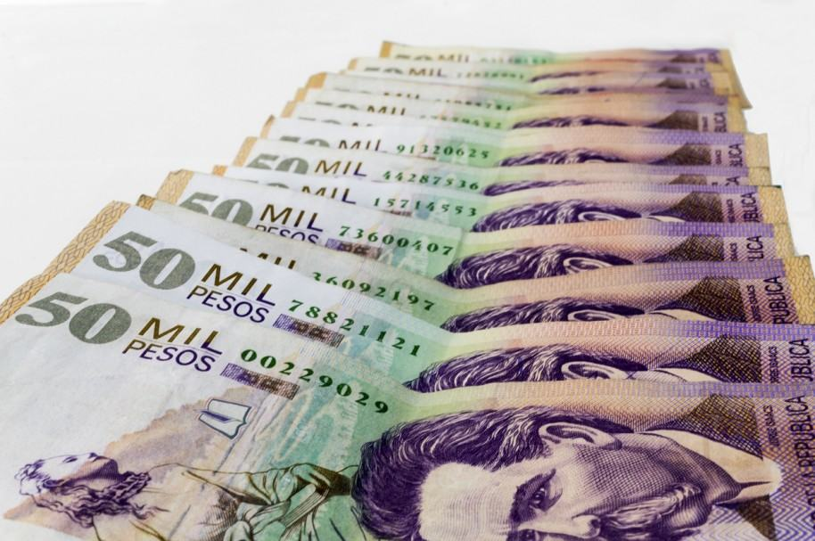 Billetes de 50 mil pesos. Pulzo.com
