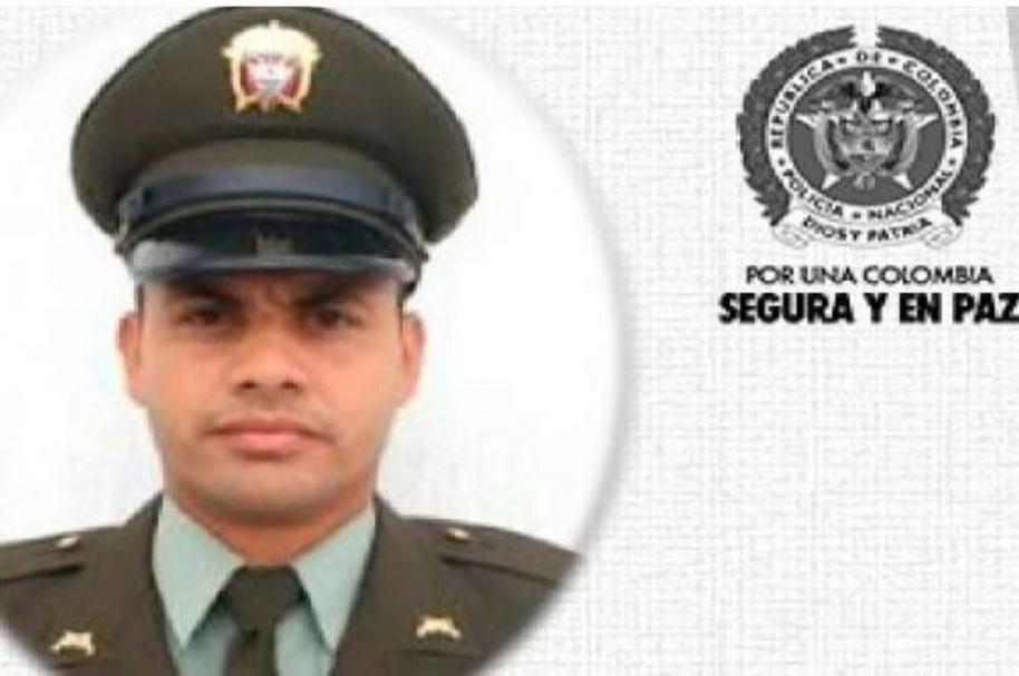 Policía asesinado en Cauca