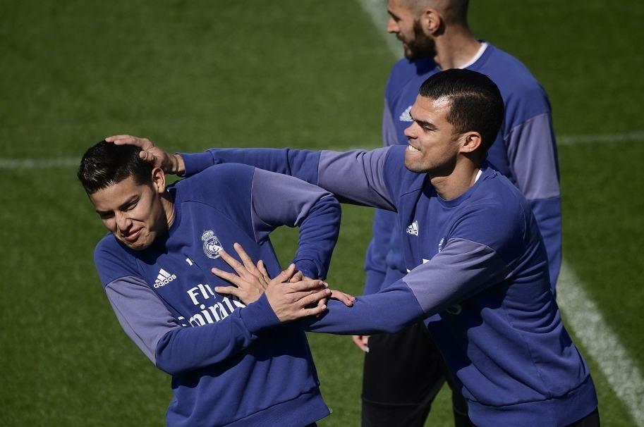 James, convocado en Real Madrid