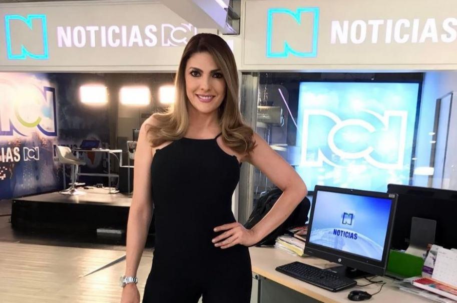 Ana Karina Soto, presentadora de RCN.