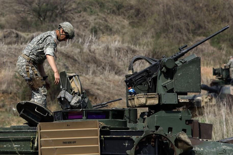 Militares estadounidenses en Corea del Sur