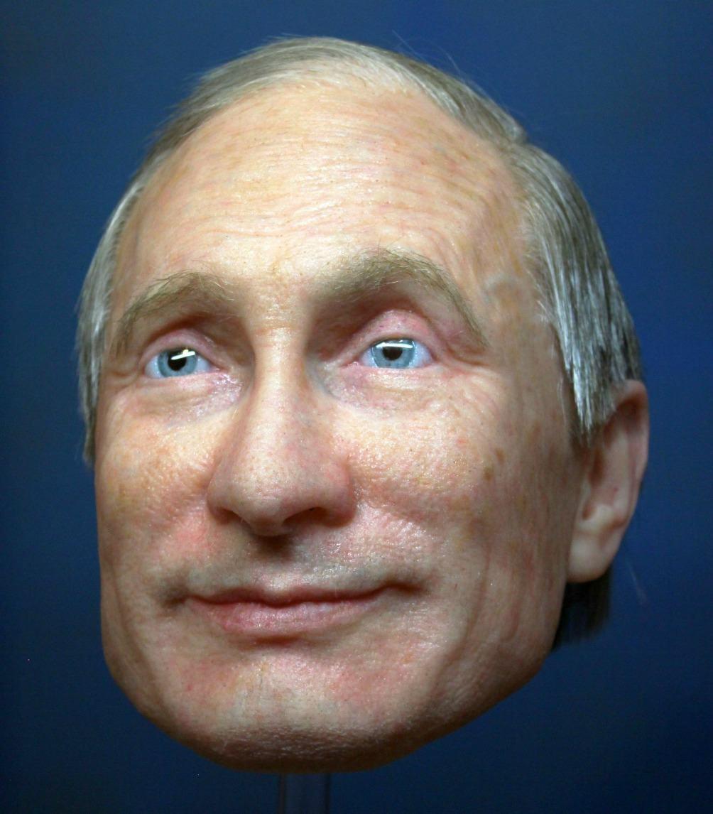 Máscara de Vladimir Putin. Pulzo.com