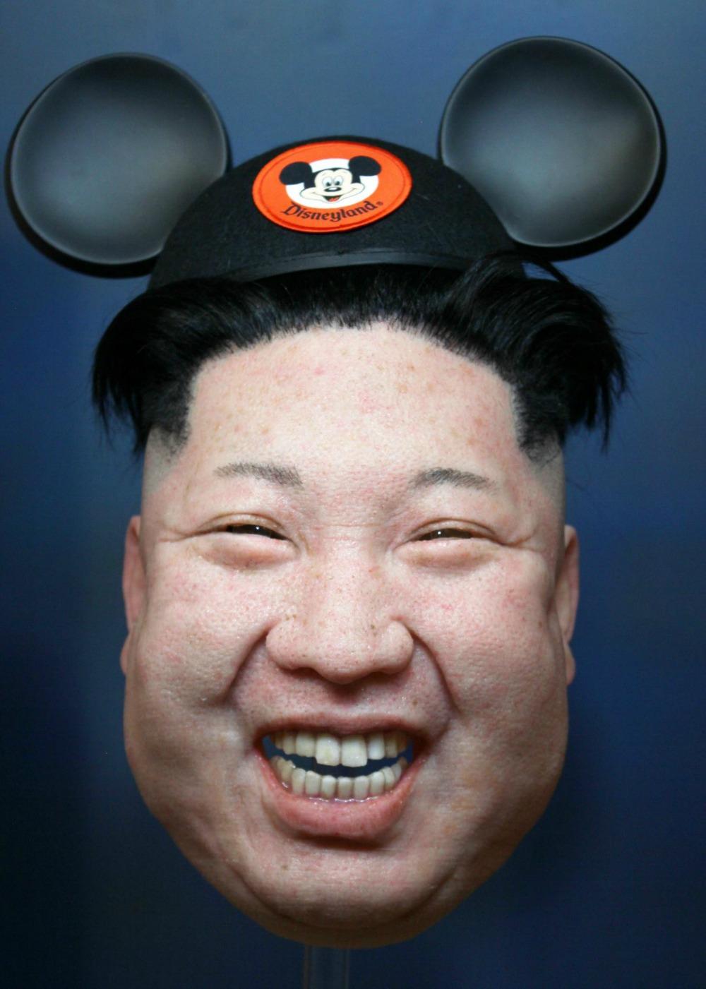 Máscara de Kim Jong Un. Pulzo.com
