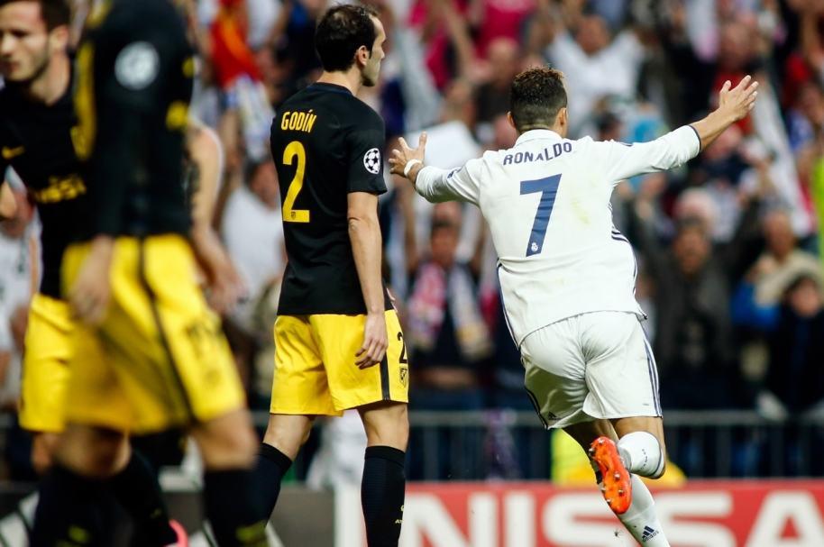 Gol de Cristiano al Atlético