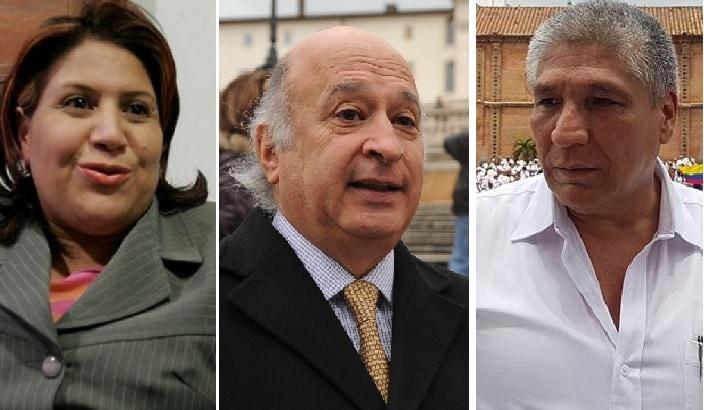 Yidis Medina, Sabas Pretelt y Sigifredo López