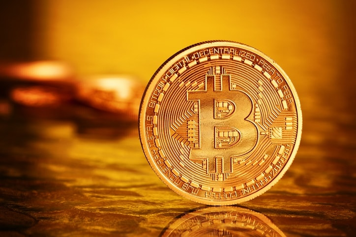 'Bitcoins' dorados, monedas virtuales