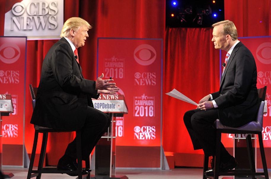 Trump y Dickinson