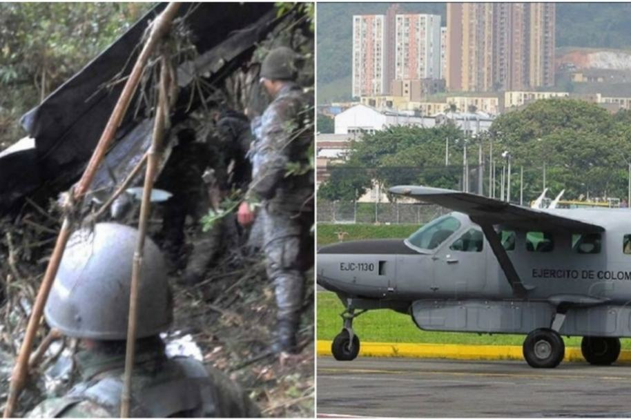 Siniestro aeronave militar