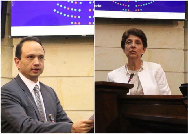 Carlos Bernal y Cristina Pardo