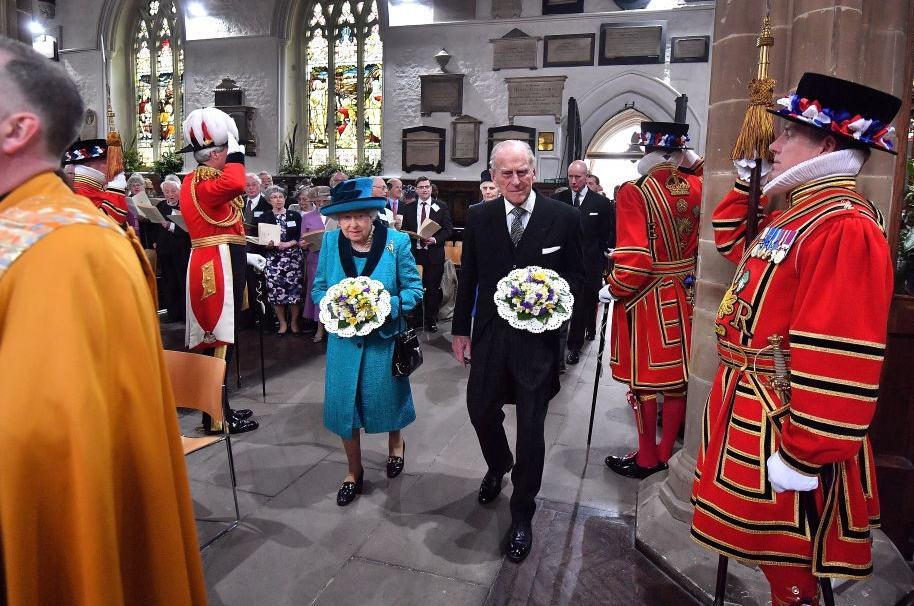 La reina Isabel y el príncipe Felipe, duque de Edimburgo