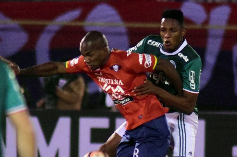 WILSTERMANN vs PALMEIRAS en Copa Libertadores