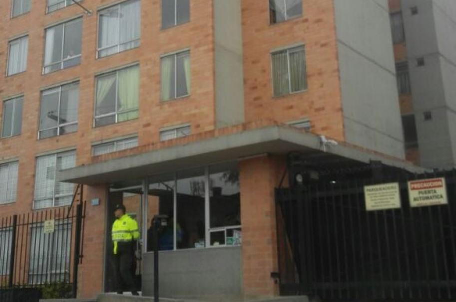 Conjunto residencial Lucerna donde murieron los dos menores