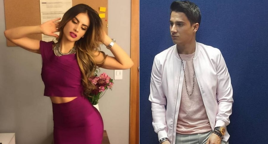 La presentadora Jessica Cediel y el cantante Pipe Bueno.1
