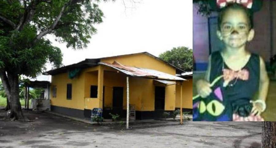 Finca donde vivía la niña Sara Ayolina Salazar