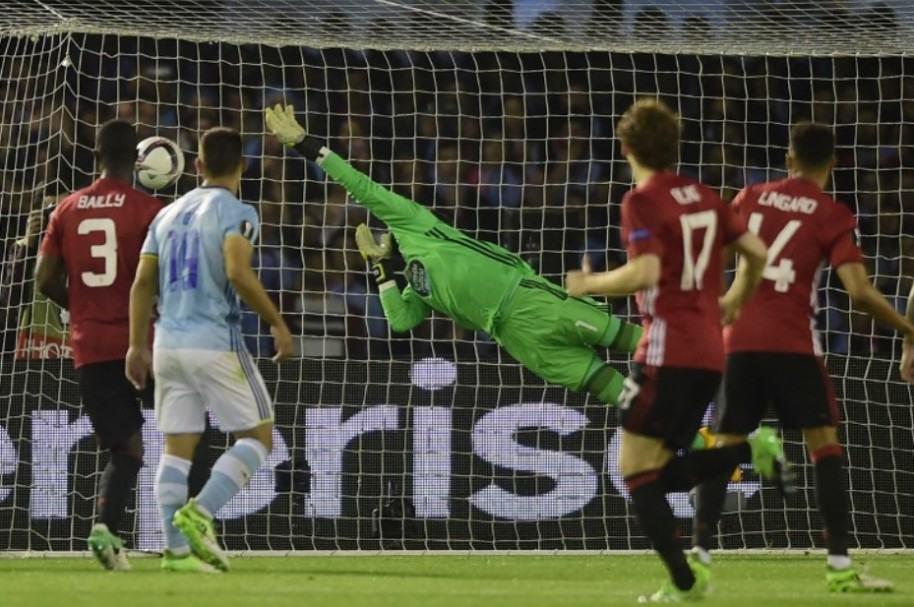 Celta de Vigo 0-1 Manchester United