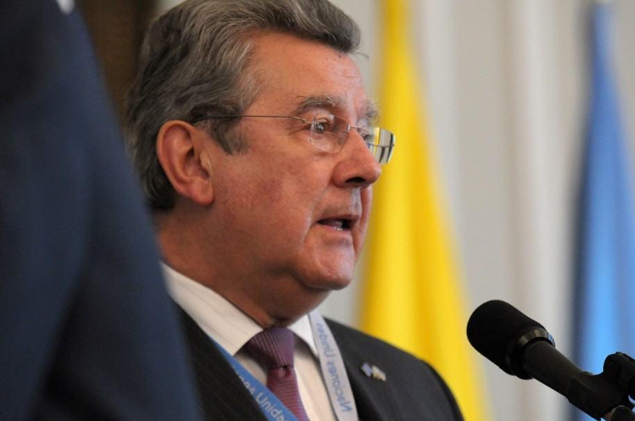 Elbio Roselli, presidente del Consejo de Seguridad de la ONU
