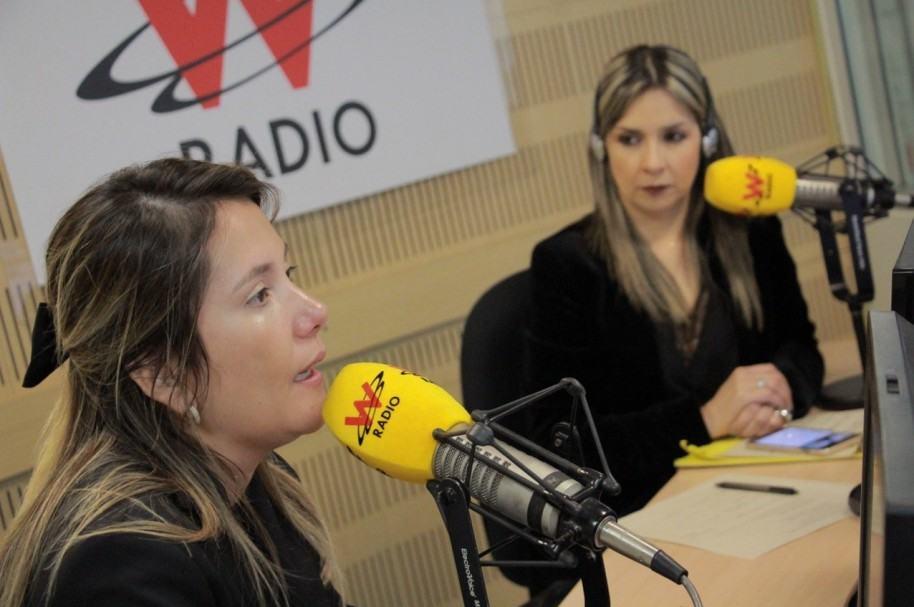 Dayana Jaimes y Vicky Dávila