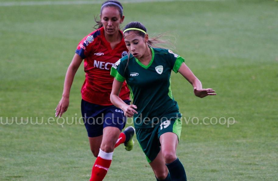 Daniela Henao, jugadora de La Equidad
