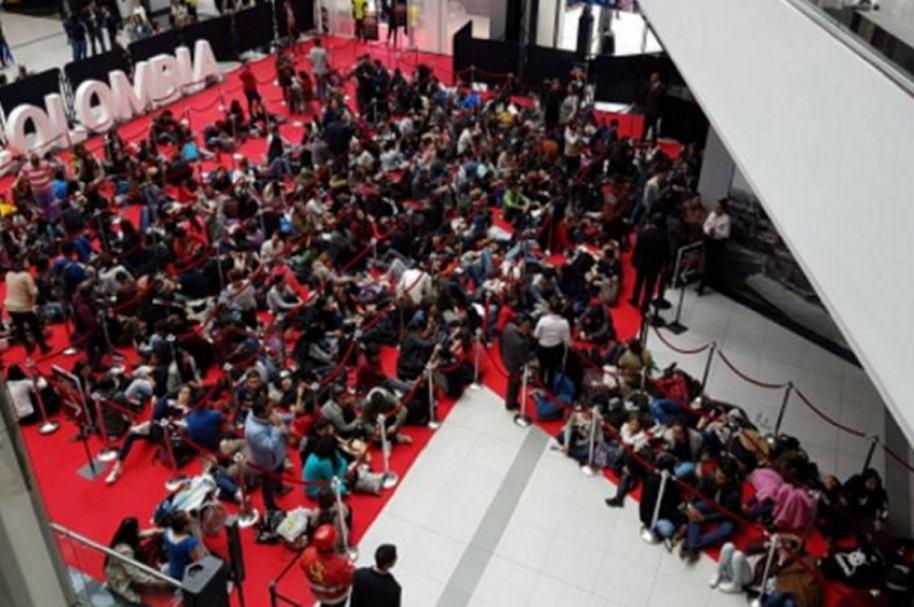 Tienda H&M en Bogotá