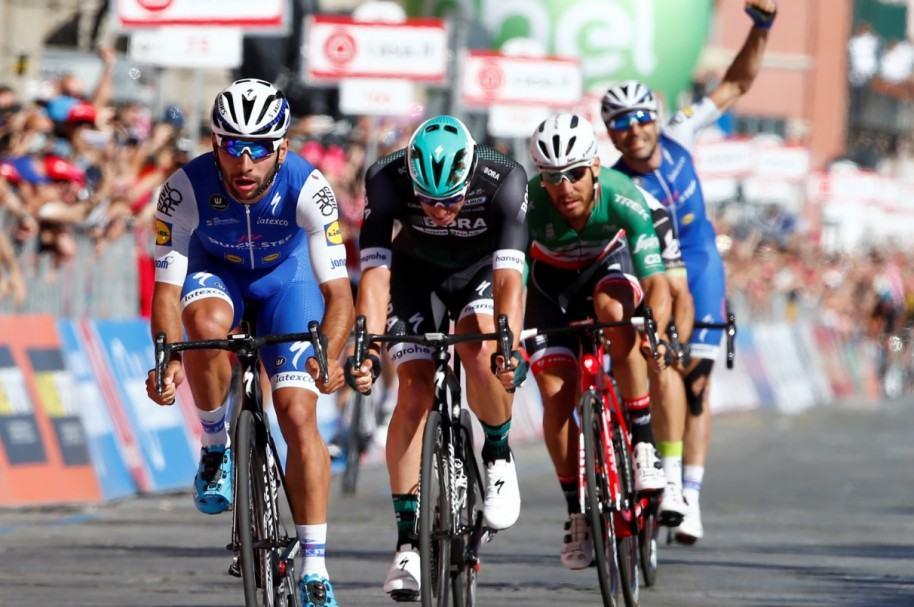 Triunfo de Gaviria en etapa 3 del Giro