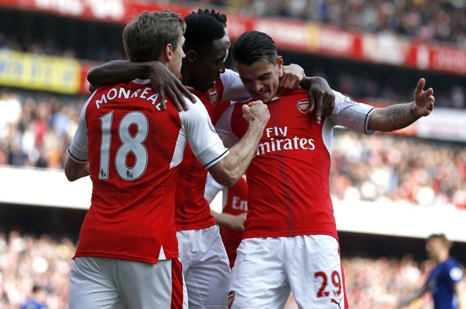 Arsenal celebró