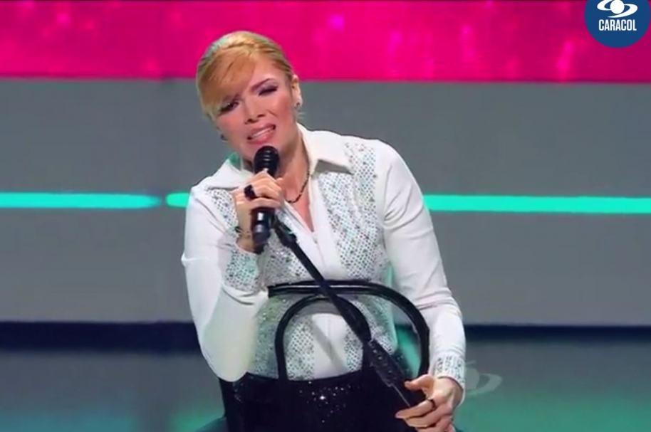 Imitadora de Gloria Trevi en el programa 'Yo me llamo'