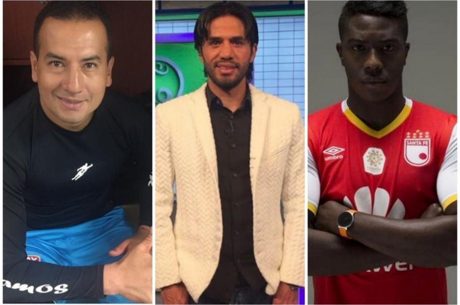 Futbolistas colombianos.