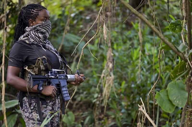 Guerrillero del Eln en Chocó