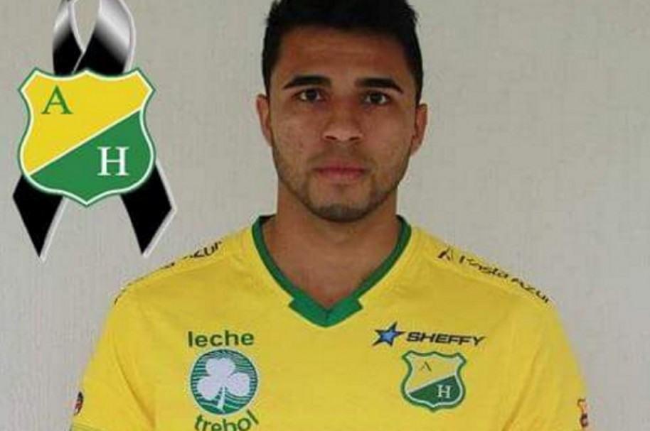 Jugador del Huila Eduard Gutiérrez fallecido en las últimas horas