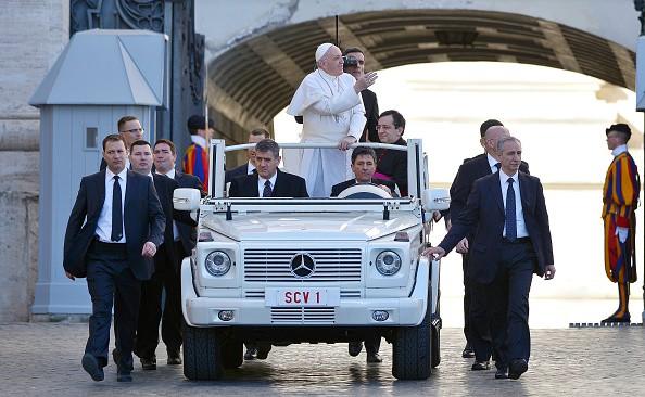 Se alista seguridad del Papa Francisco