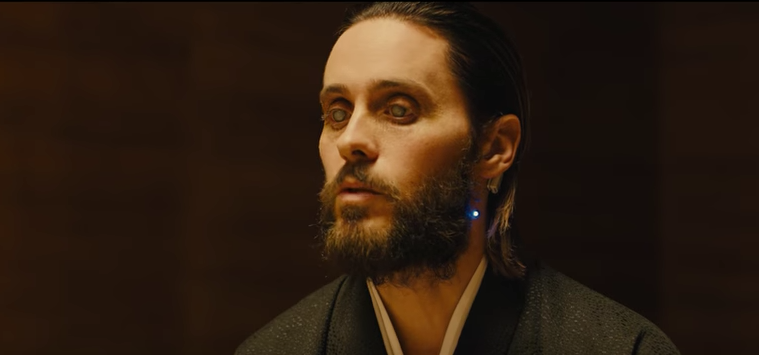 Jared Leto interpreta a un aparente creador de réplicas en 'Blade Runner 2049'. Pulzo.com